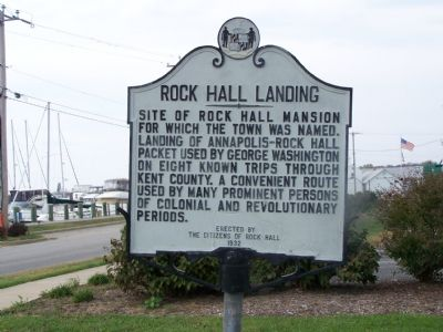 Rock Hall Landing Marker image. Click for full size.