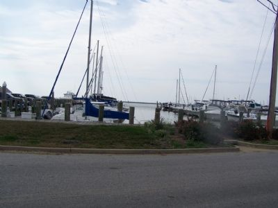 Marina at Rock Hall Landing on Chesapeake Bay image. Click for full size.