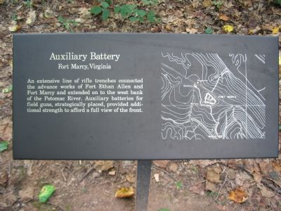 Auxiliary Battery Marker image. Click for full size.