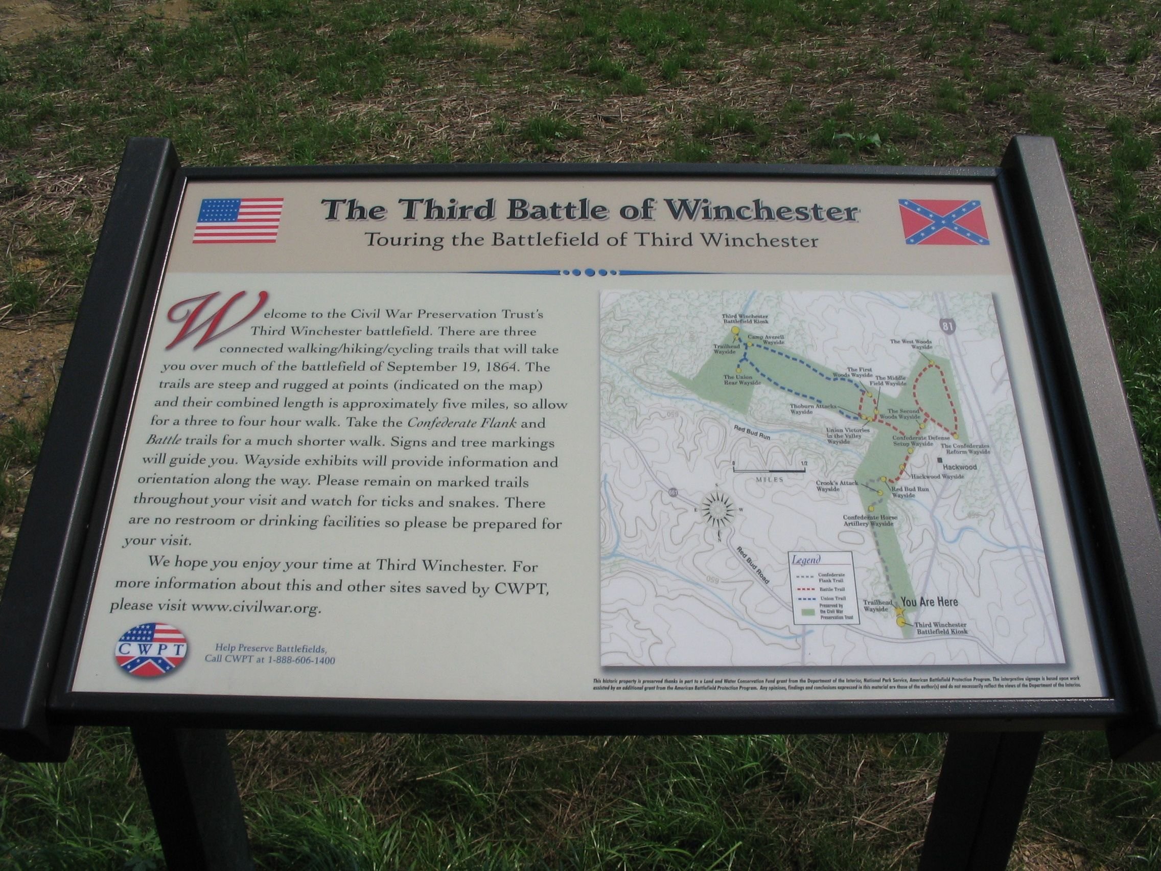 Touring the Battlefield of Third Winchester