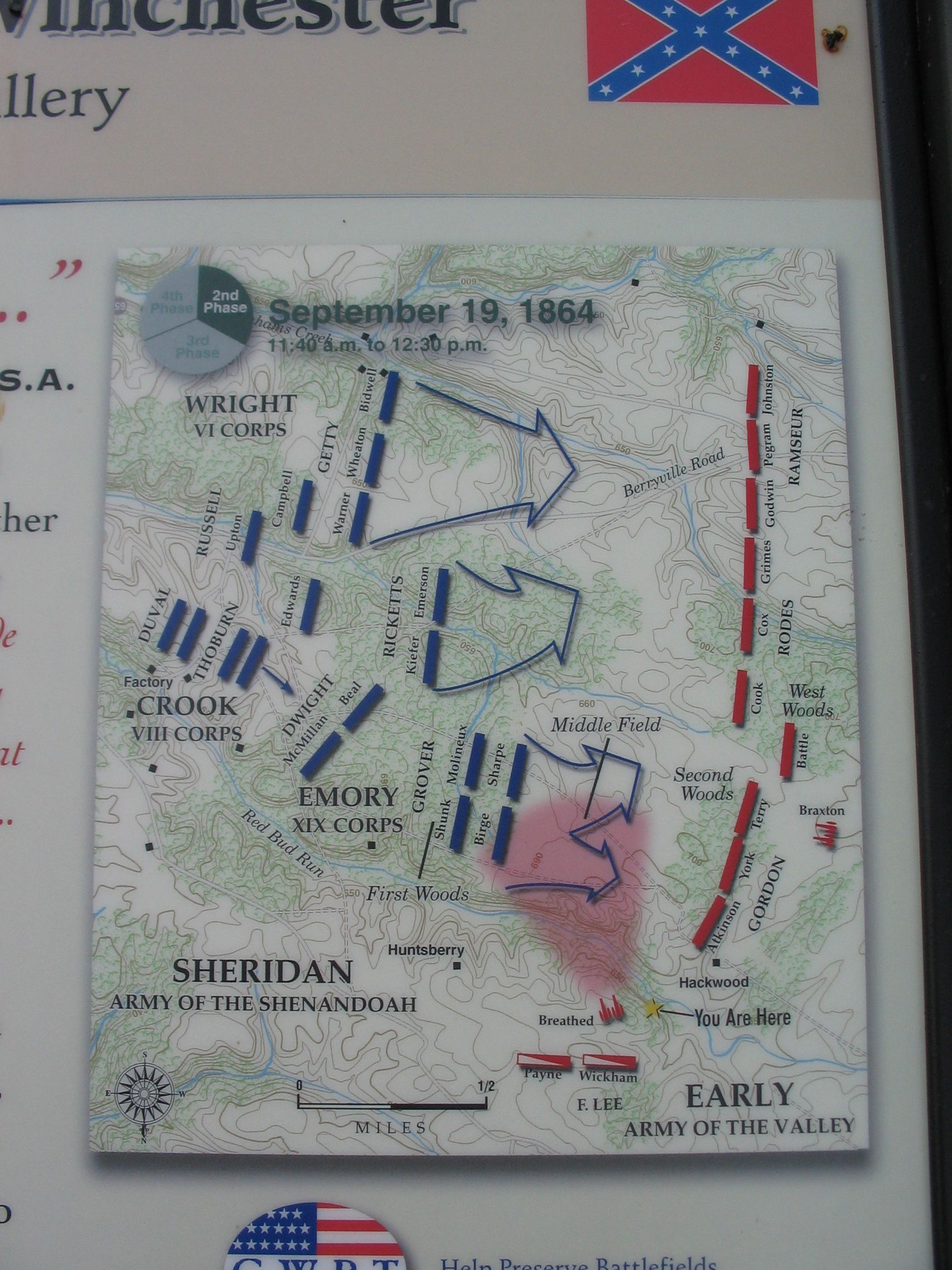 Detail of the Map