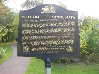 Welcome to Minnesota Face of Marker image. Click for full size.
