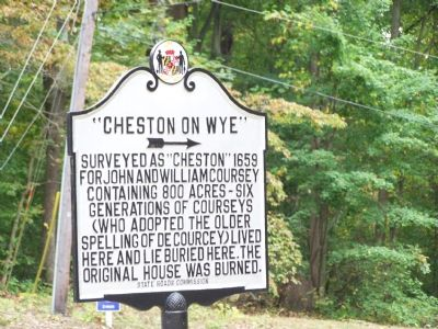 """Cheston on Wye"" Marker image, Touch for more information"