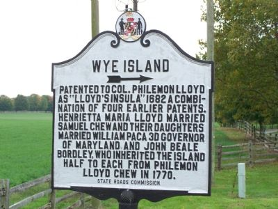 Wye Island Marker image. Click for full size.