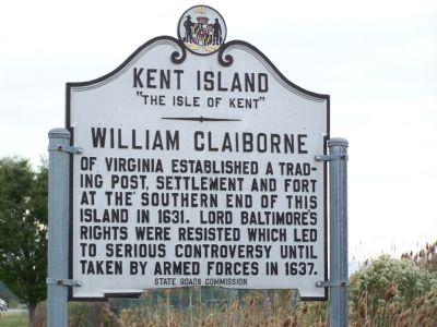 Kent Island Marker image. Click for full size.