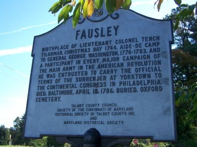 Fausley Marker image. Click for full size.