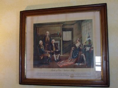Photo of Painting on wall inside The Robert Morris Inn image. Click for full size.