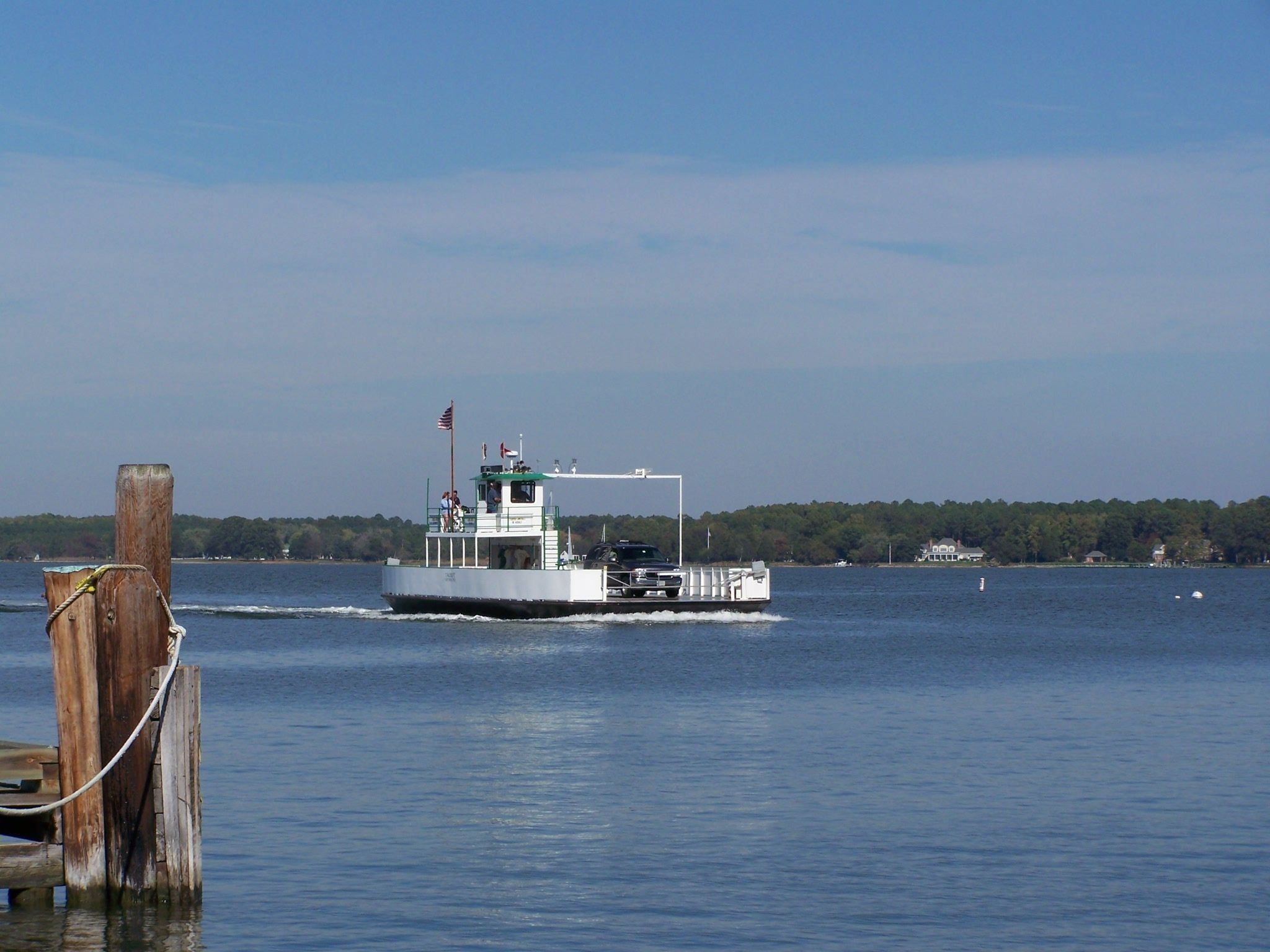 Oxford-Bellevue Ferry - The <i>Talbot</i>