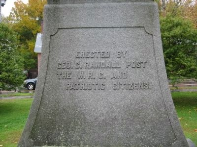 Woodstock Civil War Memorial image. Click for full size.