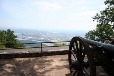 Confederate Forces – Battle of Lookout - Gun Battery image. Click for full size.