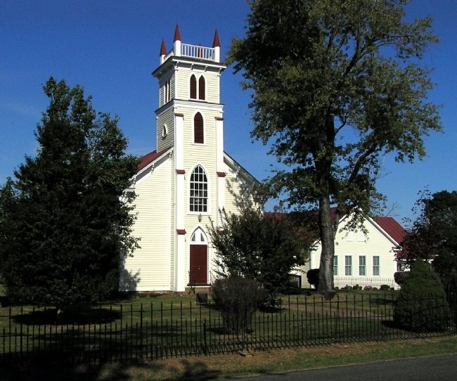 Mitchells Presbyterian Church (1879) image. Click for full size.