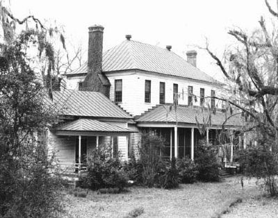 Historic Village of Pineville , Gourdin House c.1820 image. Click for full size.