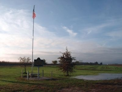 South-Westerly View - - Homer E. Capehart / GOP Cornfield Conference Marker image. Click for full size.