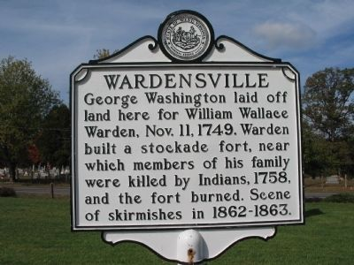 Wardensville Marker image. Click for full size.