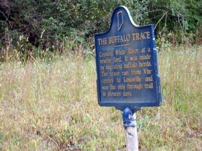 Looking South East - - The Buffalo Trace Marker image. Click for full size.