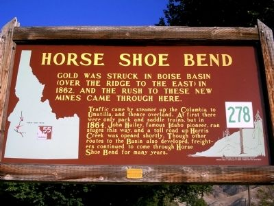 Horse Shoe Bend Marker image. Click for full size.