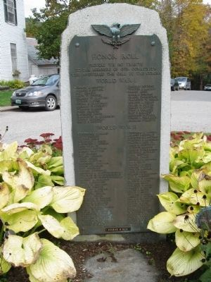 Jamaica Veterans Monument image. Click for full size.