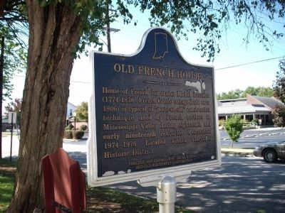 Obverse Side - - Old French House Marker image. Click for full size.