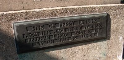 Other View - - Site of Ferry Landing Marker image. Click for full size.