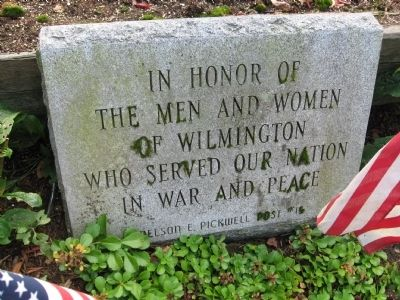 Wilmington Veterans Memorial image. Click for full size.