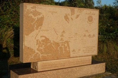 Monument to the Second Battle of the Virginia Capes, Cape Henry National Memorial image. Click for full size.