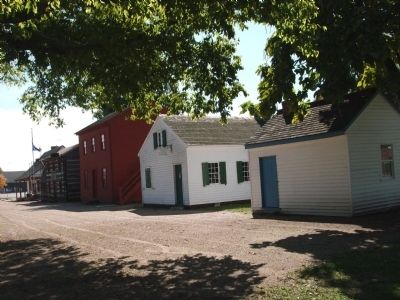 Indiana Territory  - Historic Site - Buildings image. Click for full size.