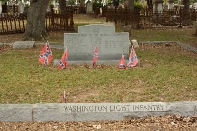 "Magnolia Cemetery ""Washington Light Infantry"" Memorial image. Click for full size."