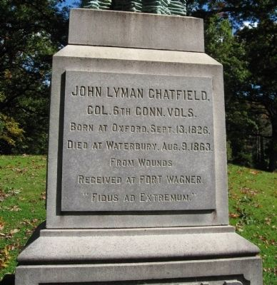 John Lyman Chatfield Monument image. Click for full size.