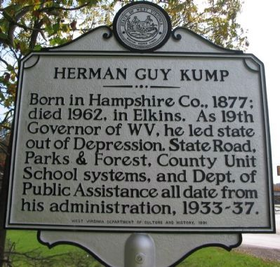 Herman Guy Kump Side image. Click for full size.