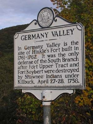 Germany Valley Marker image. Click for full size.