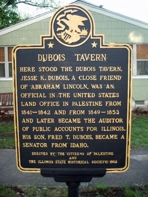 Dubois Tavern Marker image. Click for full size.