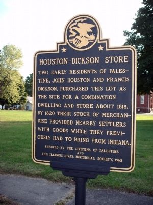 Houston - Dickson Store Marker image. Click for full size.