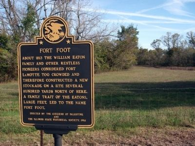 Wide View - - Fort Foot Marker image. Click for full size.