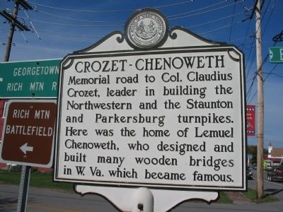Crozet - Chenoweth Side image. Click for full size.