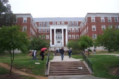 Tydings Hall - north entrance off McKeldin Mall image. Click for full size.