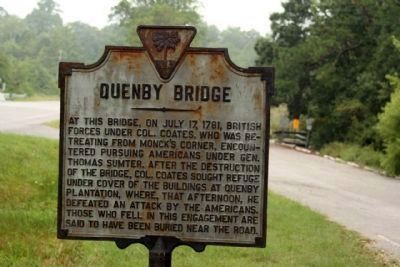 Quenby Bridge Marker image. Click for full size.