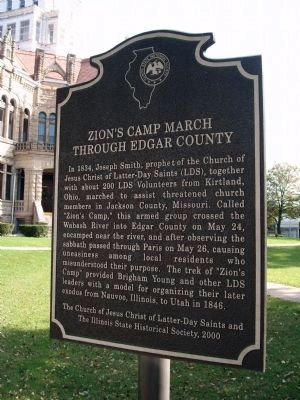 Zion's Camp March Marker image. Click for full size.