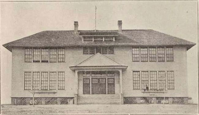 Watts Mill Village School image. Click for full size.