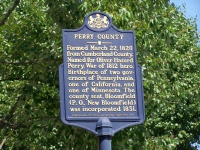Perry County Marker image. Click for full size.