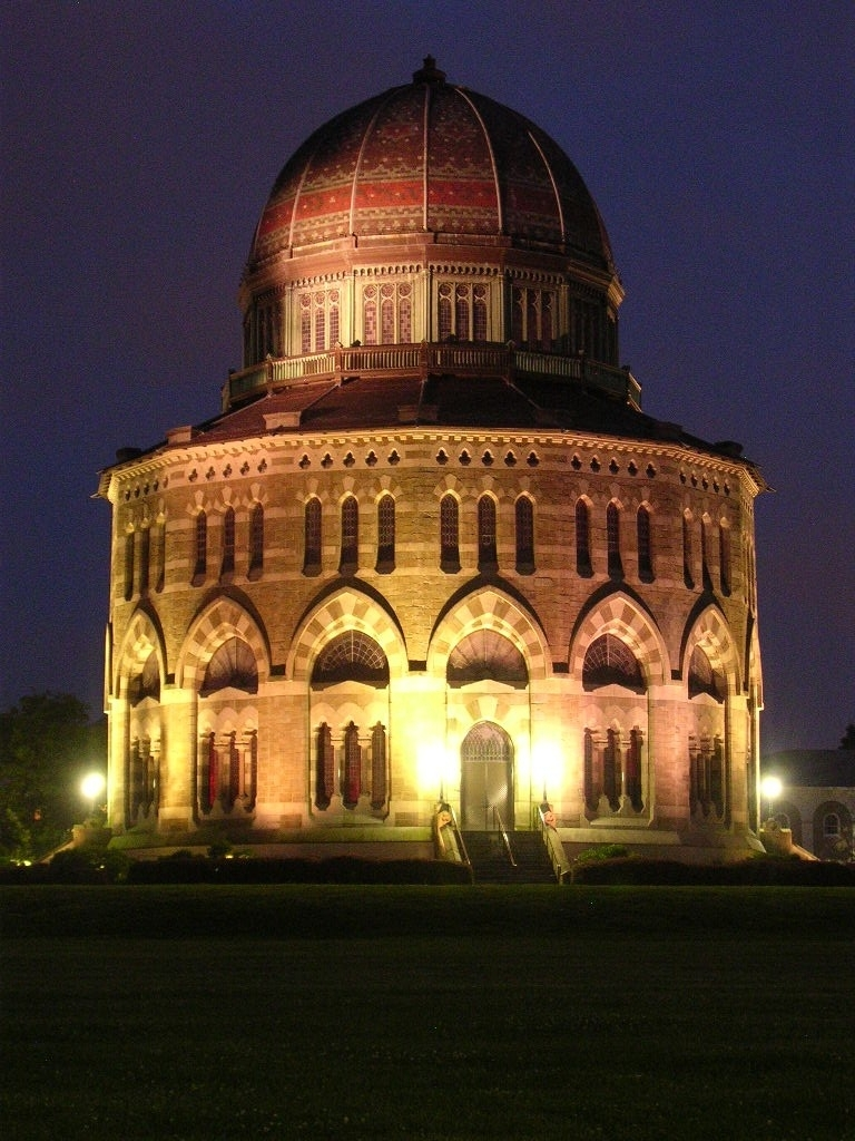 Nott Memorial at Night