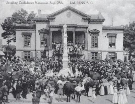 Laurens County Confederate Monument Dedication Ceremony