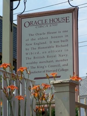 Oracle House Marker image. Click for full size.