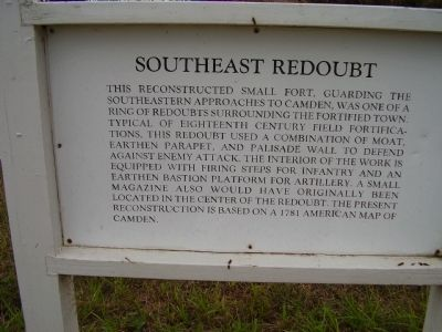 Southeast Redoubt Marker image. Click for full size.