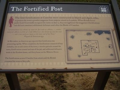 The Fortified Post Marker image. Click for full size.