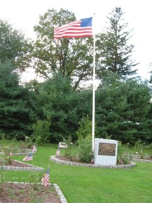 The Marker and Flagpole image. Click for full size.
