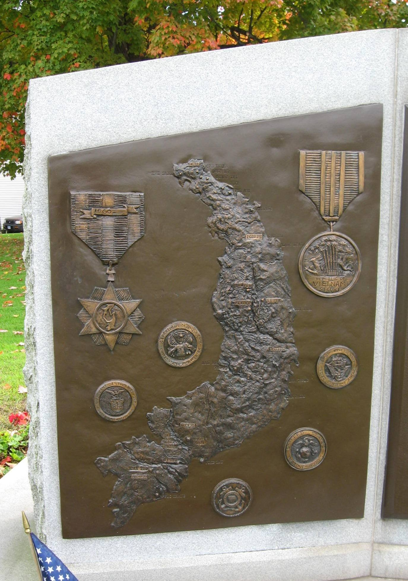 Danbury Area Vietnam War Memorial