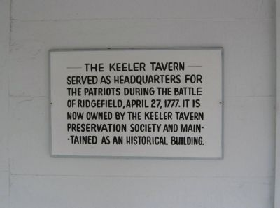 Keeler Tavern Marker image. Click for full size.