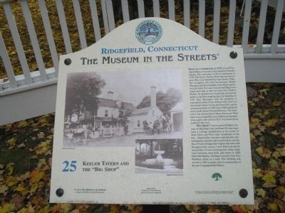 "Keeler Tavern and the ""Big Shop"" Marker image. Click for full size."