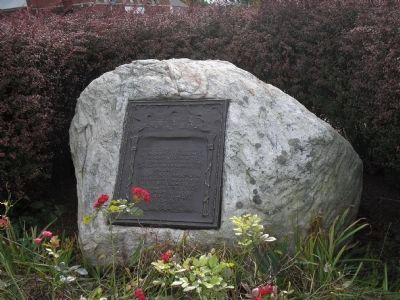 The Danbury Raid Marker image. Click for full size.