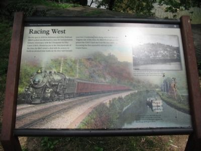 Racing West Marker image. Click for full size.